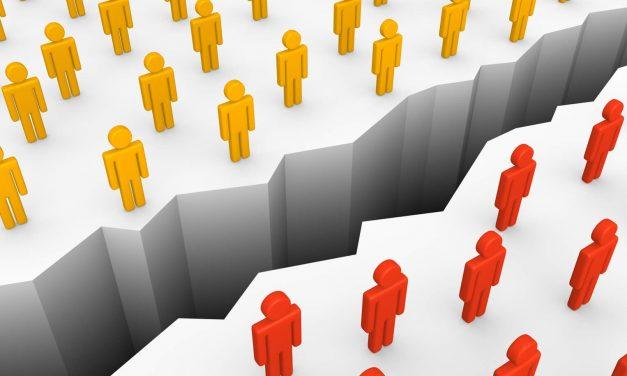 La polarización de ideas