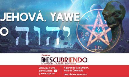 Jehová, Yawe o Tetragrámaton יהוה